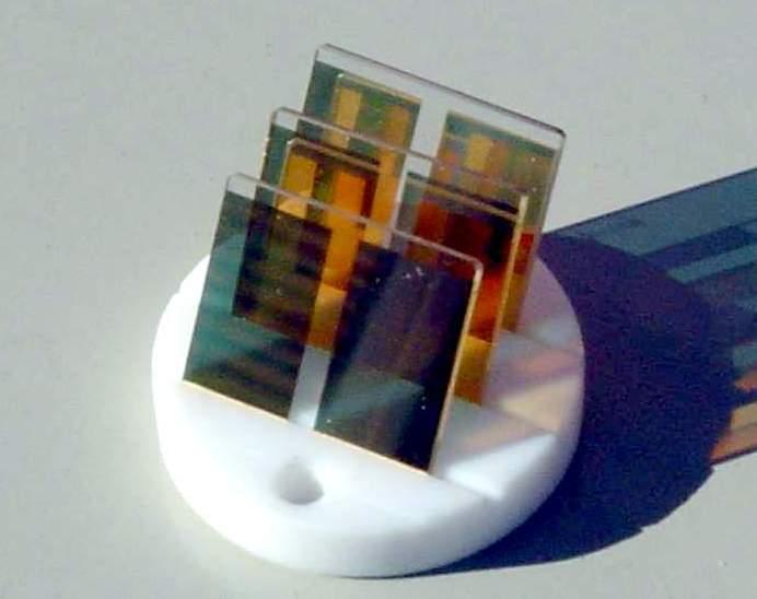 BA1200 Glass plate 20x20 electrochemical
