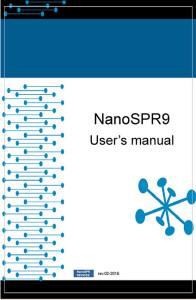 user's manual for nanospr9