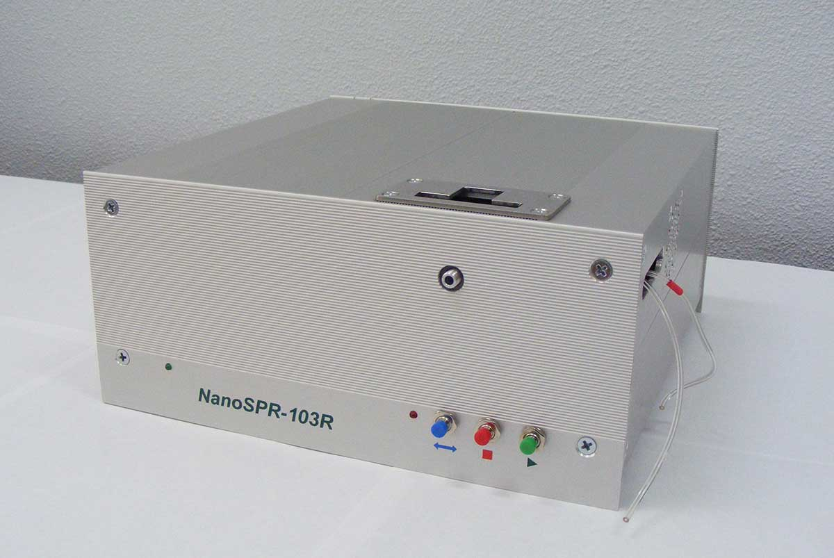 Localized surface plasmon resonance spectrometer (reader)